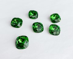 Квадраты (Fancy Stone) Swarovski, 4470, цвет - Fern Green, 12мм
