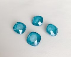 Квадраты (Fancy Stone) Swarovski 4470, цвет crystal Azure Blue, 12 мм